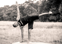 Fred Levendale - Yoga in Richmond Park